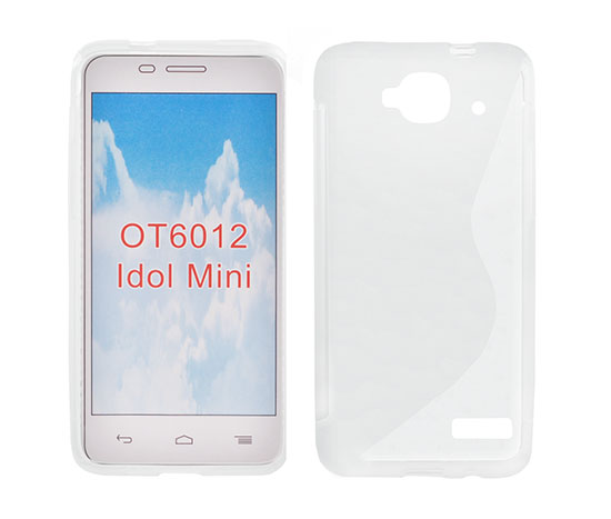 Silicone S-Line Alcatel 6012 Idol Mini transparent