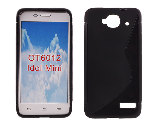 Silicone S-Line Alcatel 6012 Idol Mini black