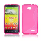 Silicone S-Line LG L70/D320/L65 pink