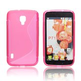 Silicone S-Line LG L90/D405 pink