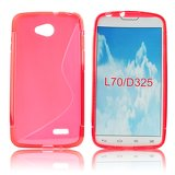Silicone S-Line LG L70/D320/L65 red