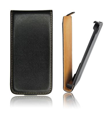 Slim Flip Case Samsung Galaxy S5 Mini/SM-G800F black