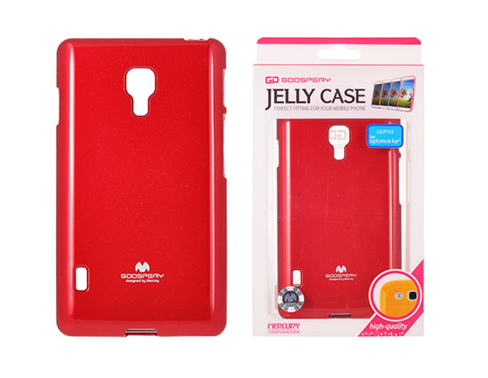 Jelly Silicone LG L7 II/P715 red