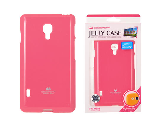Jelly Silicone LG L7 II/P715 pink