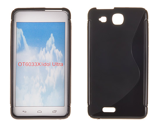 Silicone S-Line Alcatel One Touch Idol Ultra/6033 black
