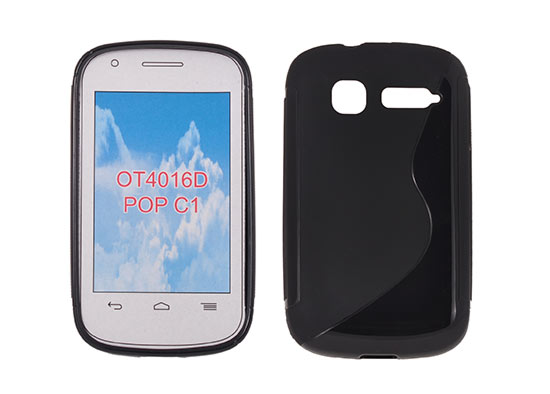 Silicone S-Line Alcatel One Touch Pop C1/4015 black