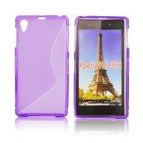Silicone S-Line Sony Xperia Z1 purple