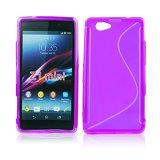 Silicone S-Line Sony Xperia Z1 Mini/Compact purple
