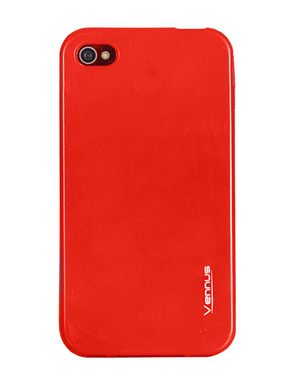 Vennus Jelly Silicone Samsung Galaxy S5/G900 red