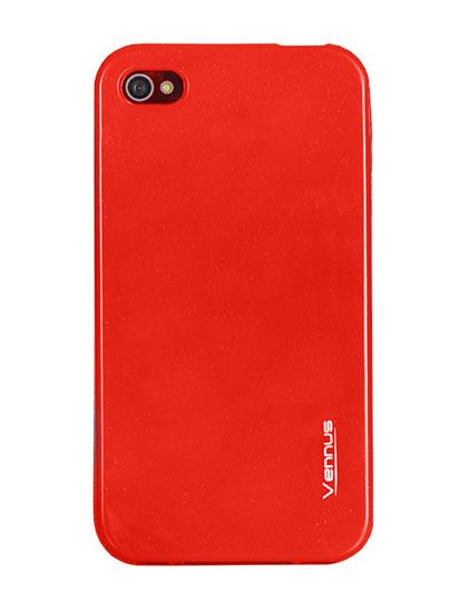 Vennus Jelly Silicone Samsung i9190 Galaxy S4 Mini red