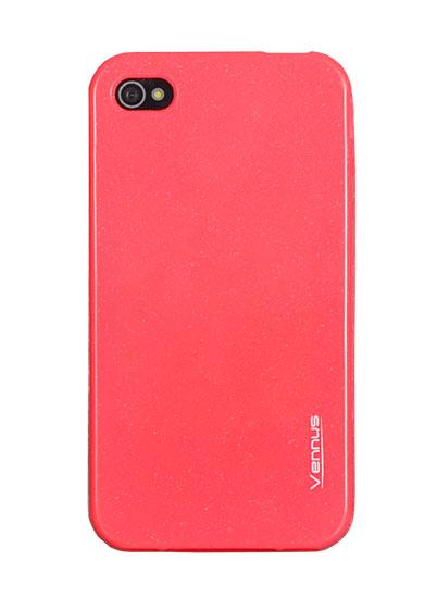 Vennus Jelly Silicone Samsung i9500/i9505 Galaxy S4 pink