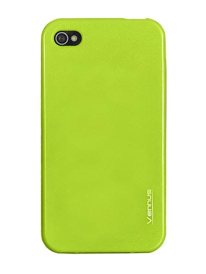 Vennus Jelly Silicone Samsung i9500/i9505 Galaxy S4 green