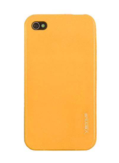 Vennus Jelly Silicone Nokia Lumia 520/525 yellow