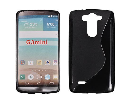 Silicone S-Line LG G3 Mini/D722 black