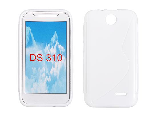 Silicone HTC Desire 310 white