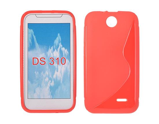 Silicone HTC Desire 310 red