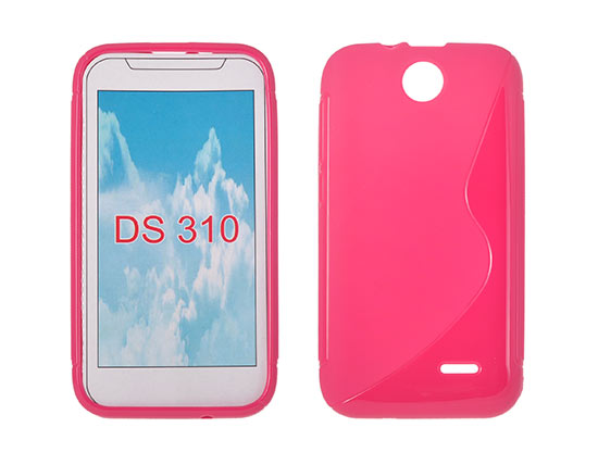 Silicone HTC Desire 310 pink