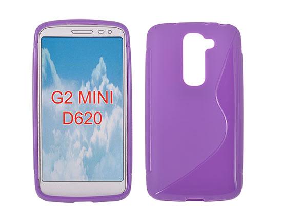 Silicone S-Line LG G2 Mini/D620 violet