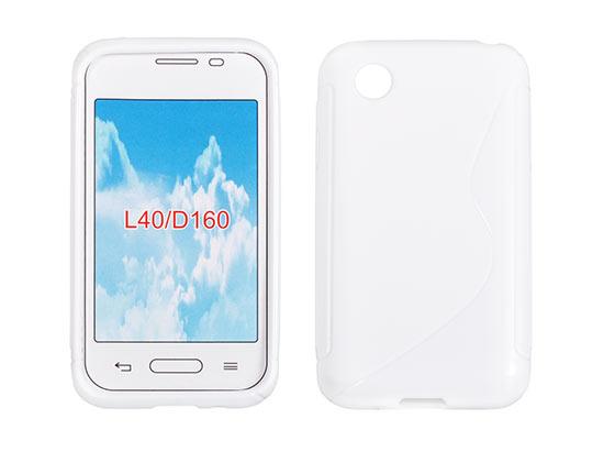 Silicone S-Line LG L40 white