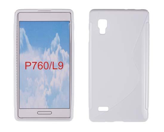 Silicone S-Line LG L9/P760 white