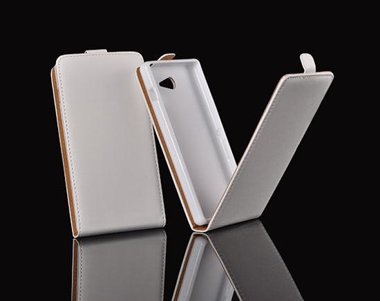 Slim Flip Case Samsung Galaxy S5 Mini/SM-G800F white