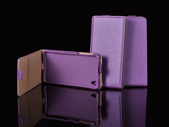 Slim Flip Case HTC Desire 310 violet