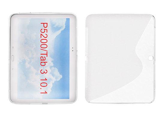 S-Line Silicone Samsung Galaxy Tab 3/P5200 10.1'' transparent