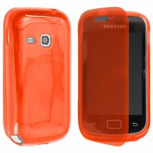 Jelly Ultra Book Case Samsung S6310 Galaxy Young red