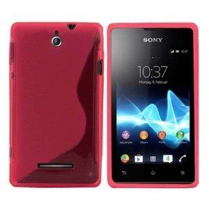 Silicone S-Line Sony Xperia E3 pink