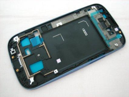 Samsung i9300 FrontFrame blue ORIGINAL