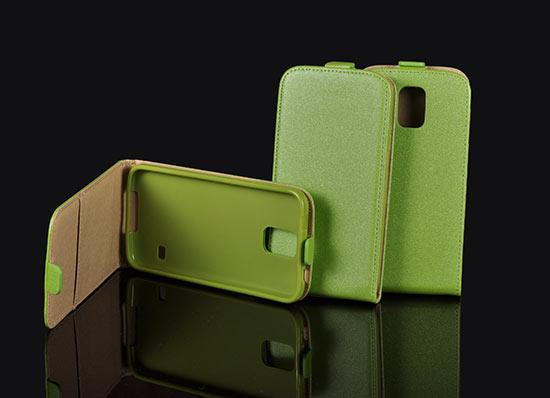 Slim Flip Case Sony Xperia M2 green