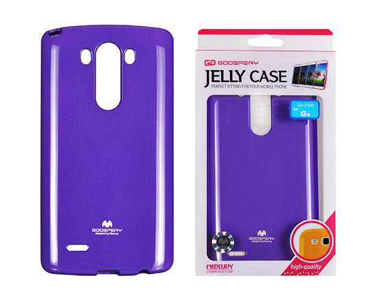 Jelly Silicone LG G3/D855 violet