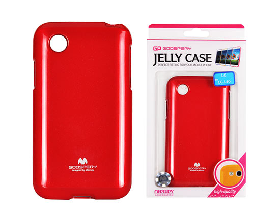 Jelly Silicone LG L40/D160 red