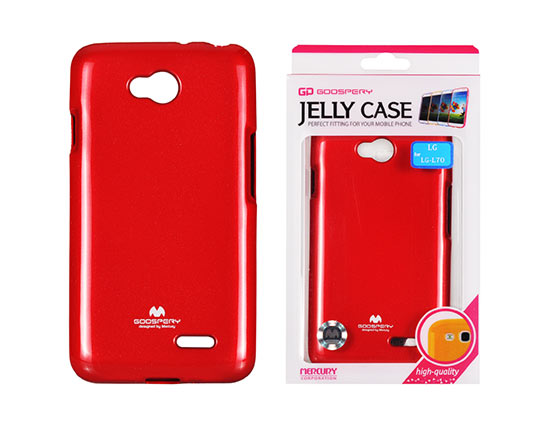 Jelly Silicone LG L70/D320/L65 red