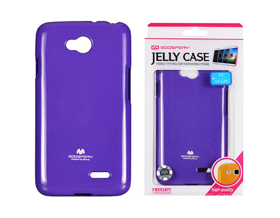Jelly Silicone LG L70/D320/L65 violet
