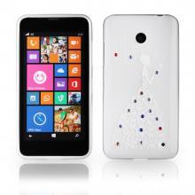 Lady Silicone Nokia Lumia 630 white