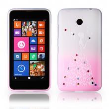 Lady Silicone Nokia Lumia 630 pink