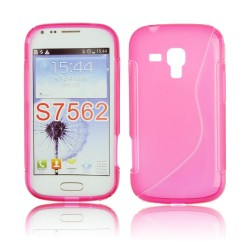 Samsung S7562 Galaxy S Duos S-Line Silicone pink