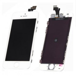 iPhone 5S Lcd+Touch Screen white HQ