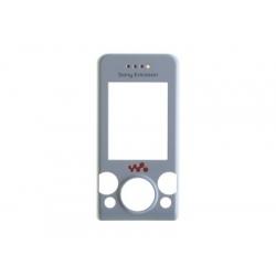 Sony Ericsson W580 FrontCover silver/white ORIGINAL