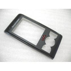 Sony Ericsson W595 FrontCover black ORIGINAL