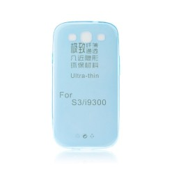 Silicone Ultra Slim 0.3mm Samsung i9300 Galaxy S3 blue