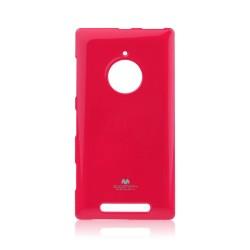Jelly Silicone Lumia 830 pink