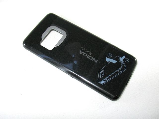 Nokia N81 BatteryCover vanilla 2 grey ORIGINAL