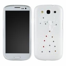 Lady Silicone Samsung i9190 Galaxy S4 Mini white
