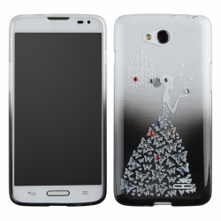 Lady Silicone Samsung i9190 Galaxy S4 Mini black