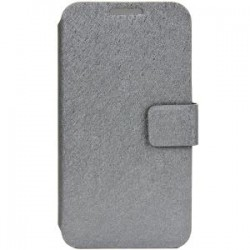 Trendy Fiber BookCase Samsung i9190 Galaxy S4 Mini grey