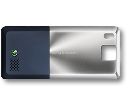 Sony Ericsson T650 BatteryCover blue ORIGINAL