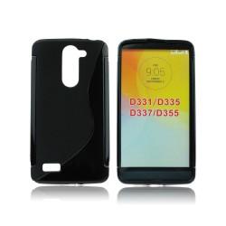 Silicone S-Line LG L Bello black