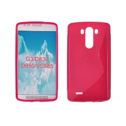 Silicone S-Line LG G3/D855 pink